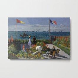 Monet, Terrasse à Sainte-Adresse, 1866 Metal Print