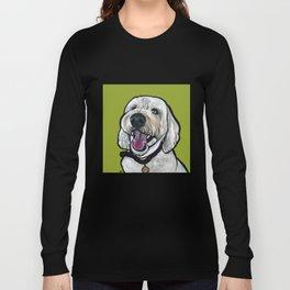 Kermit the labradoodle Long Sleeve T-shirt