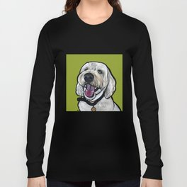 Kermit the labradoodle Long Sleeve T-shirt