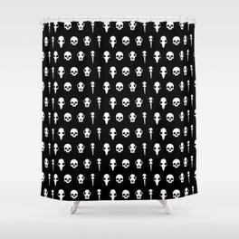 Ditton Skulls Shower Curtain