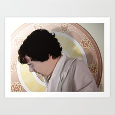 The Royal Sheet Art Print