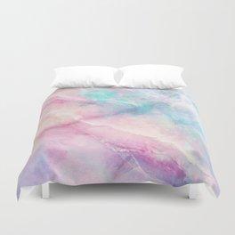 Iridescent marble Duvet Cover