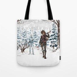 Under the Dead Skies - Snow Tote Bag