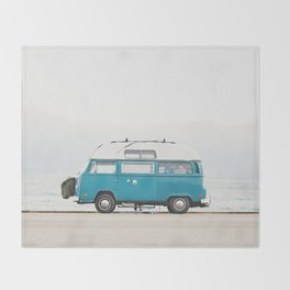Malibu Roadtrip Throw Blanket