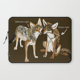 Coyotes in love Laptop Sleeve