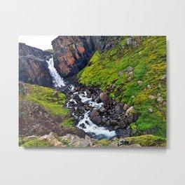 Fardagafoss, Egilsstadir, East Region, Iceland (2) Metal Print