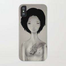 Tattoo iPhone X Slim Case