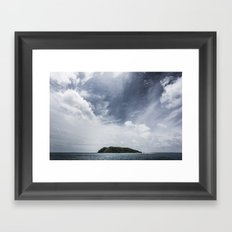 Island in the sun Framed Art Print