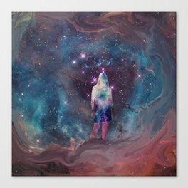 Meditation in the Stars Canvas Print