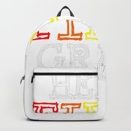 Hello First Grade First Grader Backpack