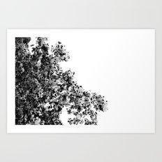 Polka dotted Tree Art Print