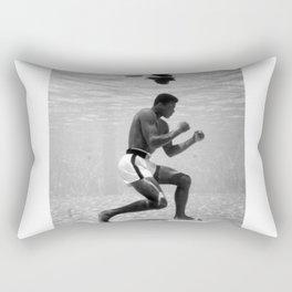 Boxing Legend - Cassius Marcellus Clay Jr - BLM - Black - Power - Muhammad - The Greatest - Ali 76 Rectangular Pillow