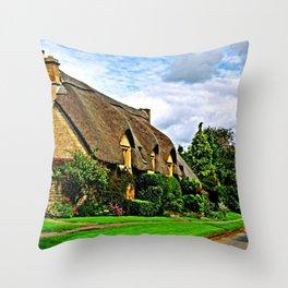 Picturesque Chipping Campden Throw Pillow