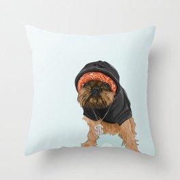 Gangster Digby Throw Pillow