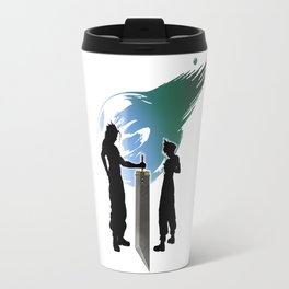 Final Fantasy VII - Sword Of Fantasy Travel Mug