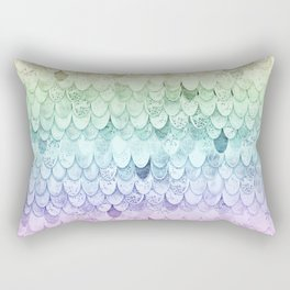 RAINBOW MERMAIDSCALES - MAGIC MERMAID Rectangular Pillow