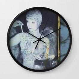 Ballad of the Showgirl Wall Clock