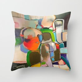 Saving for a Rainy Day in Egypt Throw Pillow