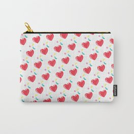 heart hearts Carry-All Pouch