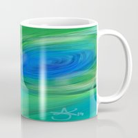peacock Mugs featuring Peacock by ANoelleJay