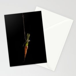 Vegetable Vanitas: The Carrot Painting by Brooke Figer Stationery Cards