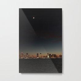 Hudson River View Metal Print