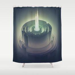 lil bunsen Shower Curtain