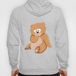 Cute Bear Relaxing Under a Tree Hoody