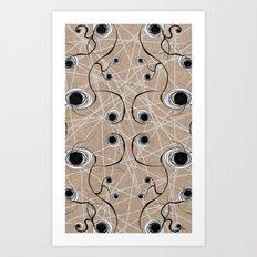Knot Pattern Art Print