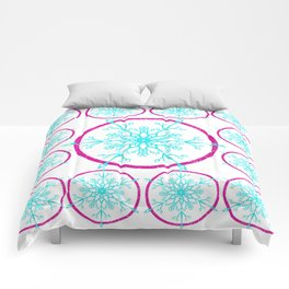 Dream-catching a Snowflake Comforters