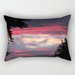 Patriotic Sky Rectangular Pillow