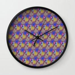 Kyle's babies print (PaleTeal) Wall Clock