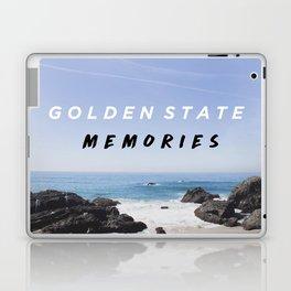 Golden State Memories at Laguna Beach Laptop & iPad Skin