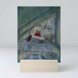 The Ghost Mini Art Print