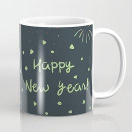 Happy New Year Corgi Coffee Mug