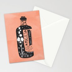 Magics... -orange- Stationery Cards
