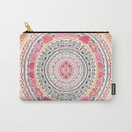 Pastel Bohemian Mandala Carry-All Pouch