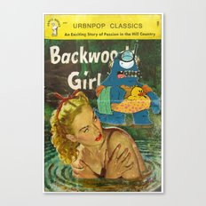 Byron and Backwoods girls Canvas Print