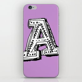 A is for... iPhone Skin