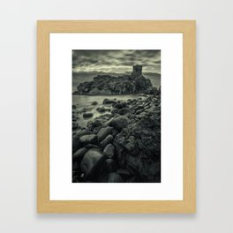 Kinbane Castle III Framed Art Print