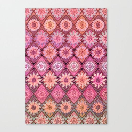 Daisy Pinks Canvas Print