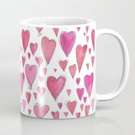 Watercolor My Heart (Small) by Deirdre J Designs Coffee Mug