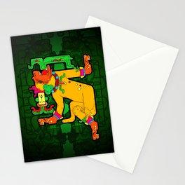 Yaxchilan - Maya Tiger Stationery Cards