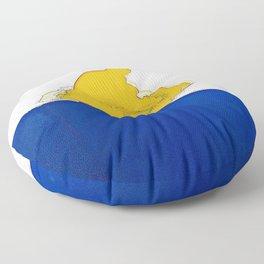 The Sledder Floor Pillow