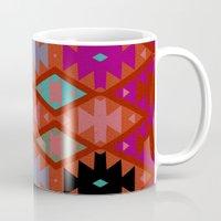 bohemian Mugs featuring bohemian by spinL