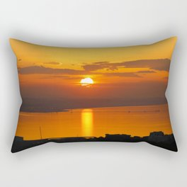 The last sun Rectangular Pillow