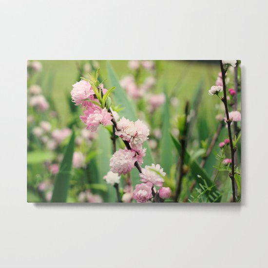 The Best Things in Life are Pink Metal Print