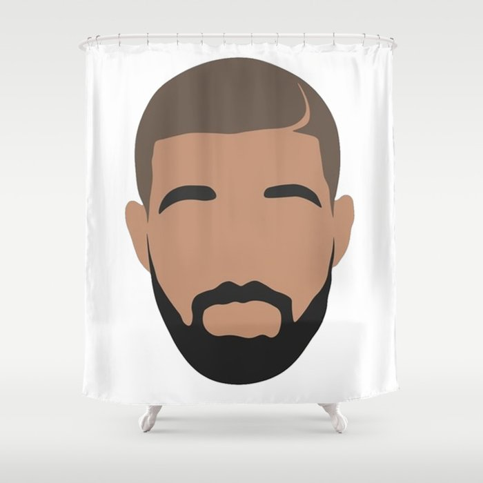Drake Shower Curtain By Kirana01