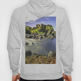Dunluce Castle, Ireland. (Painting) Hoody