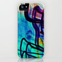 Sea Foam District iPhone Case